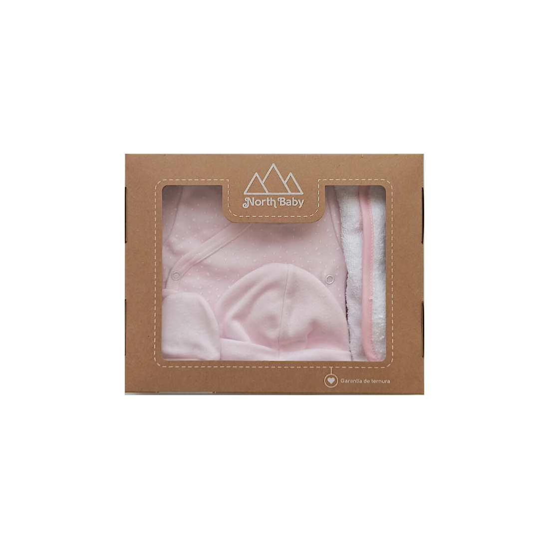 NB301CROET0 | Caja body estampado rosa