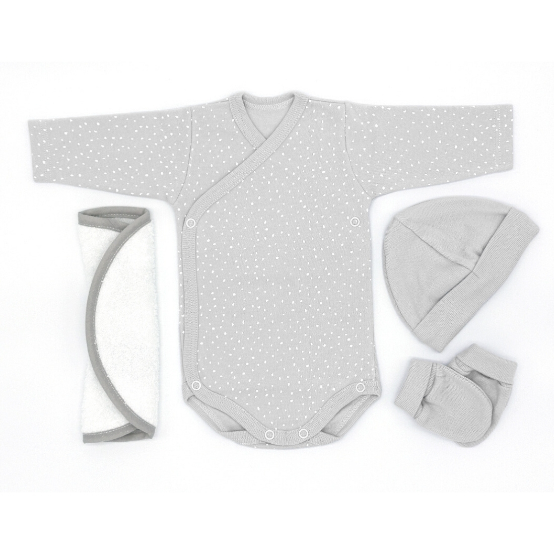 NB301CGRET0 | Conjunto body estampado gris